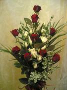 U3 kytice růží z lásky