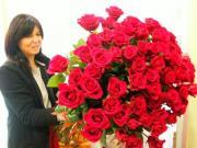 U9 kytice růží kterou neunesete - růžové