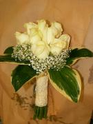 K14 bílé růže
